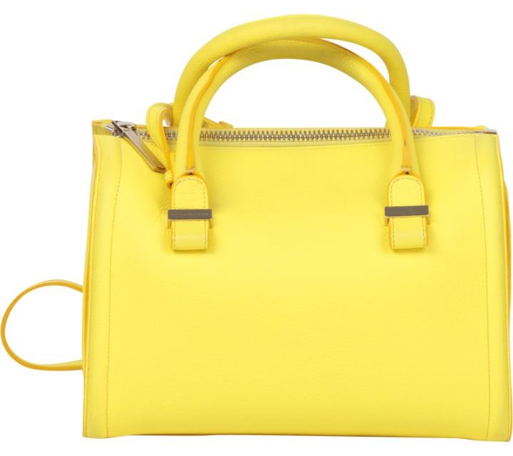 Victoria Beckham Yellow Handbag