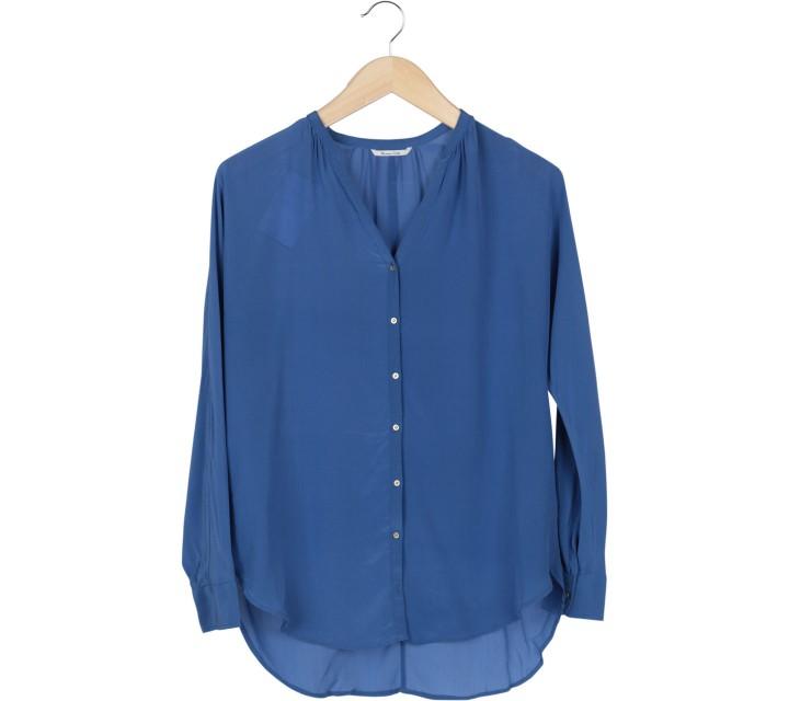 Massimo Dutti Blue Shirt