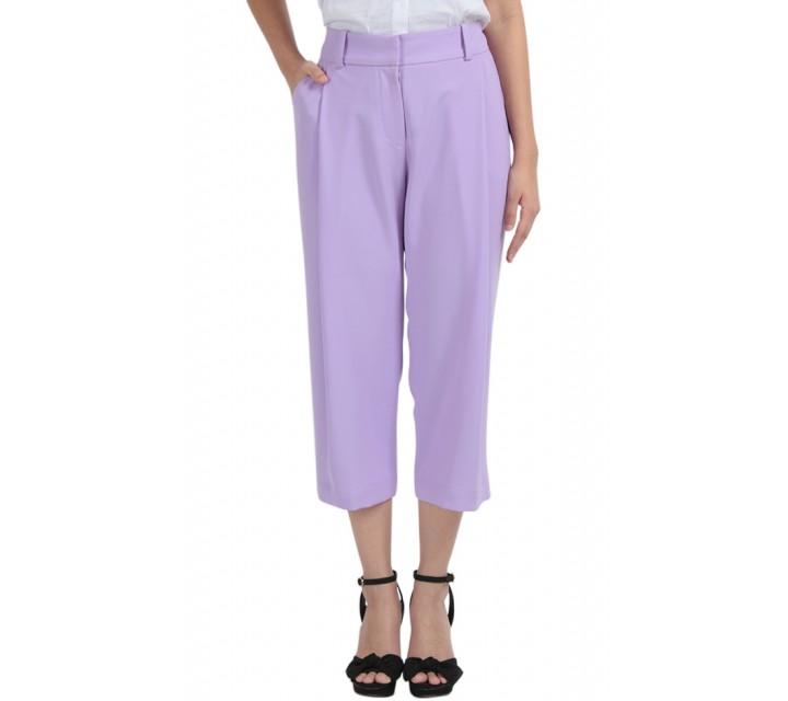 Purple Crop Pants
