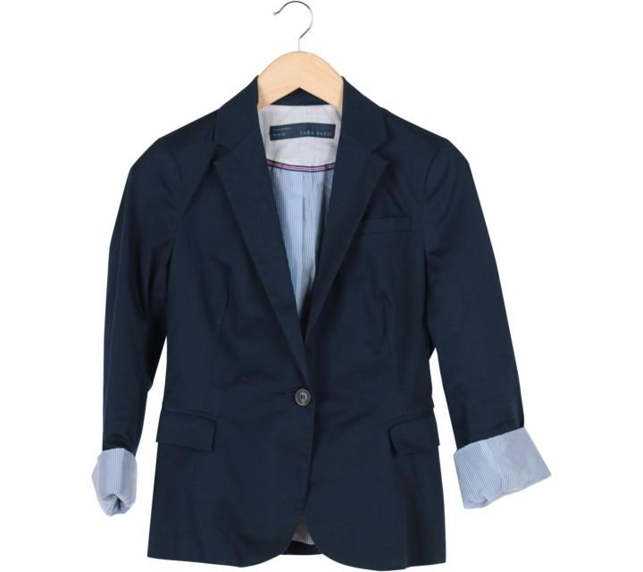 Zara Dark Blue Blazer