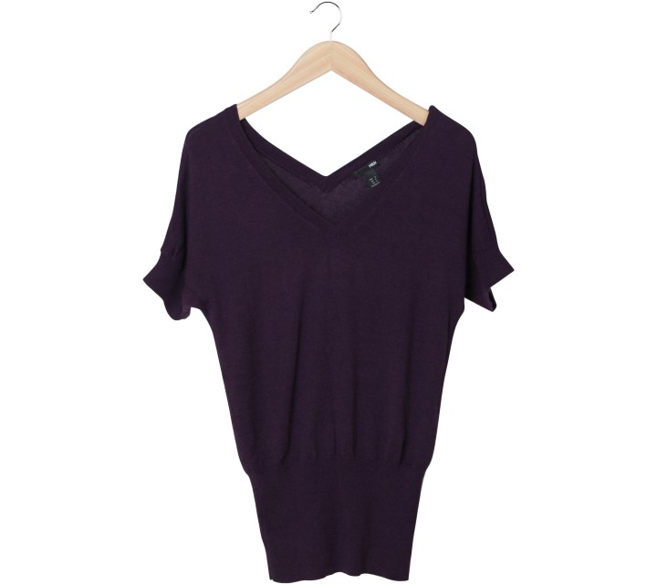 H&M Purple Blouse