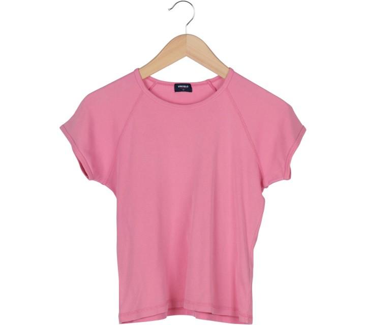 UNIQLO Pink T-Shirt