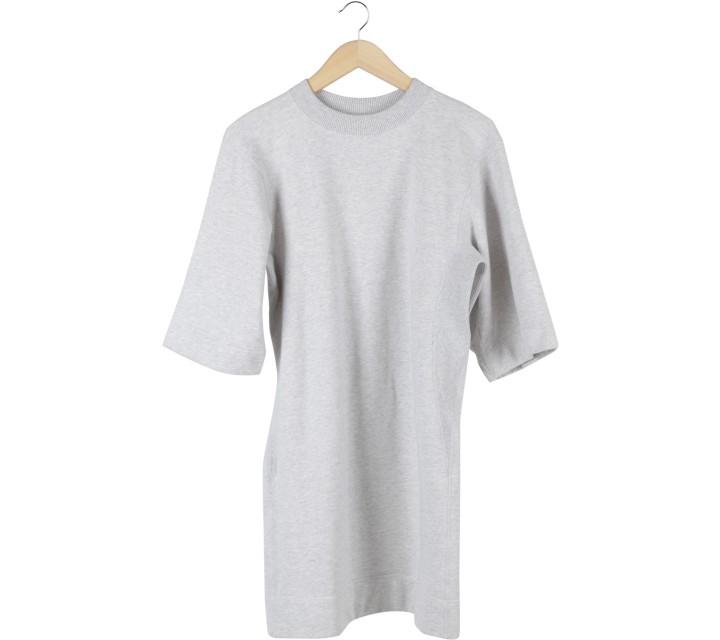 UNIQLO Grey Sweater Mini Dress