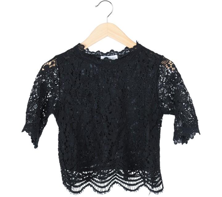 Tinkerlust Black Lace Blouse