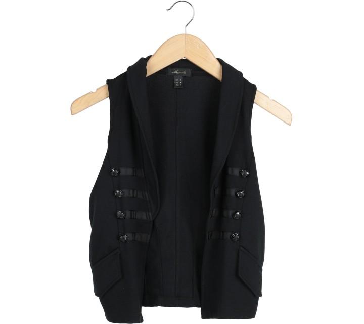 Magnolia Black Vest