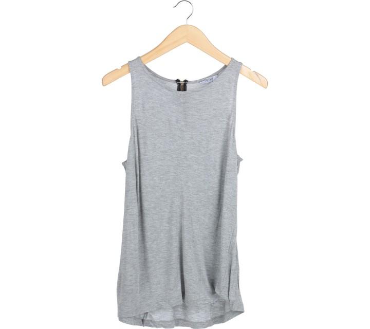 Pull & Bear Grey Sleeveless