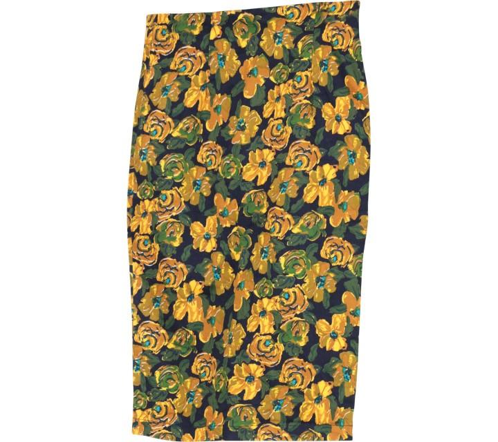 Marlan Multi Colour Floral Skirt
