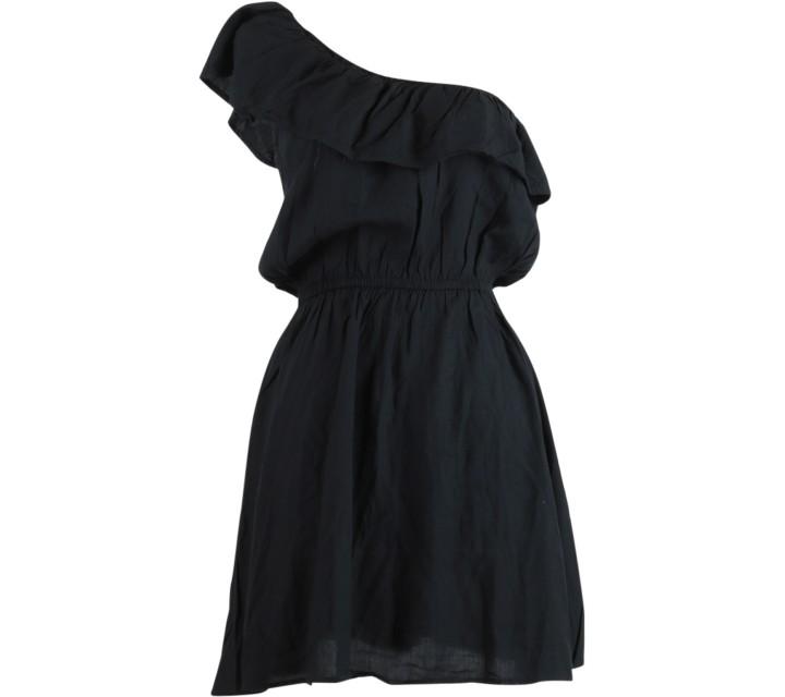Cotton On Black One Shoulder Mini Dress