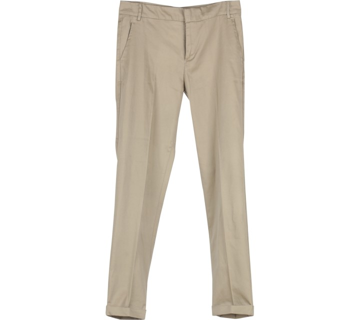 Stradivarius Brown Long Pants