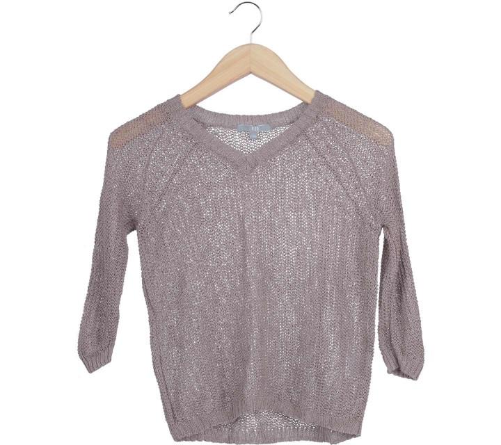 UNIQLO Brown Net Sweater