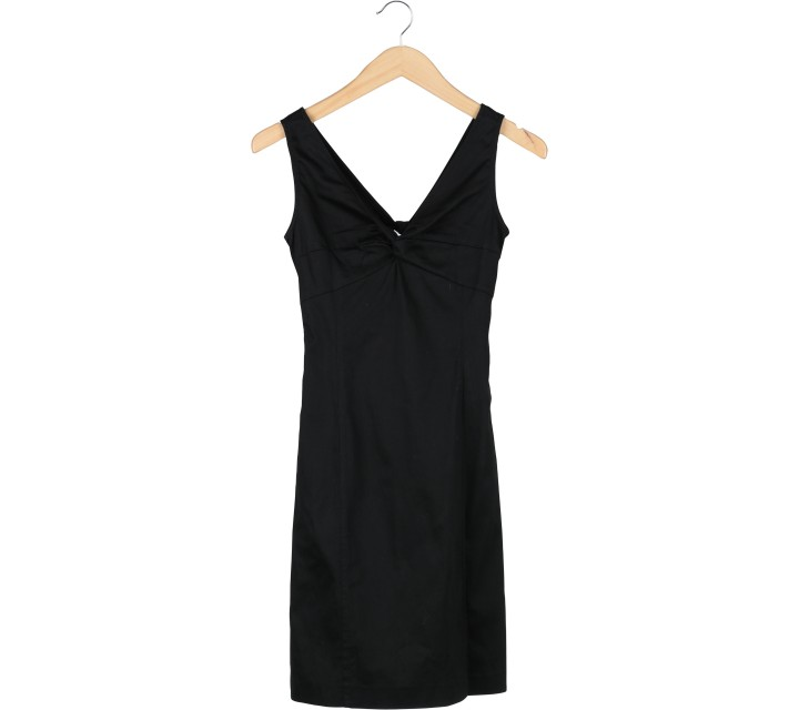 Mango Black Mini Dress
