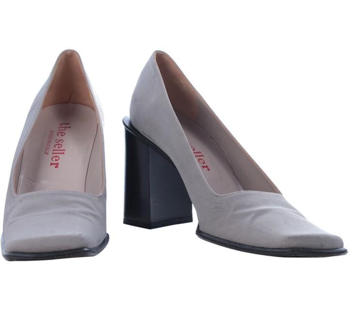 The Seller Grey Heels