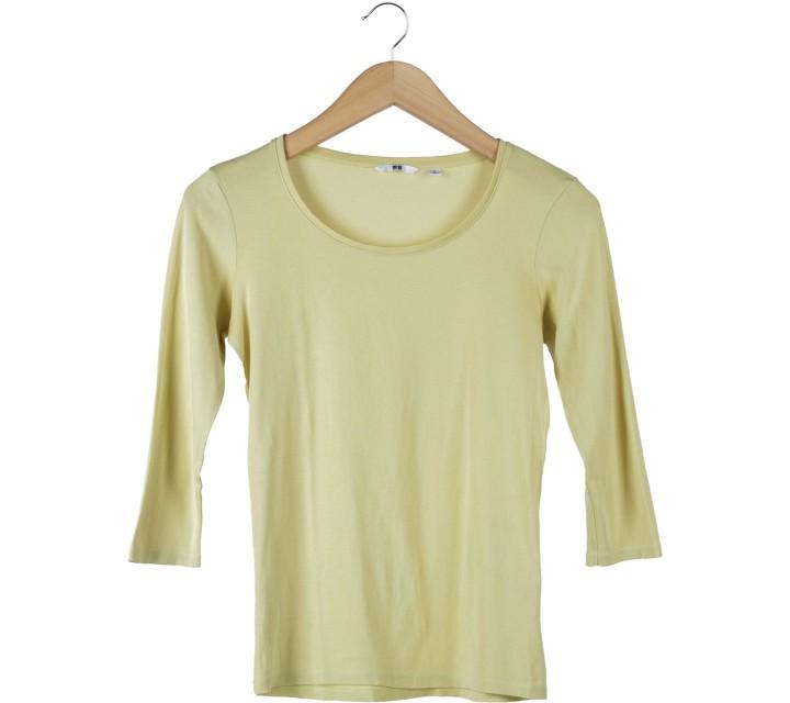 UNIQLO Yellow T-Shirt