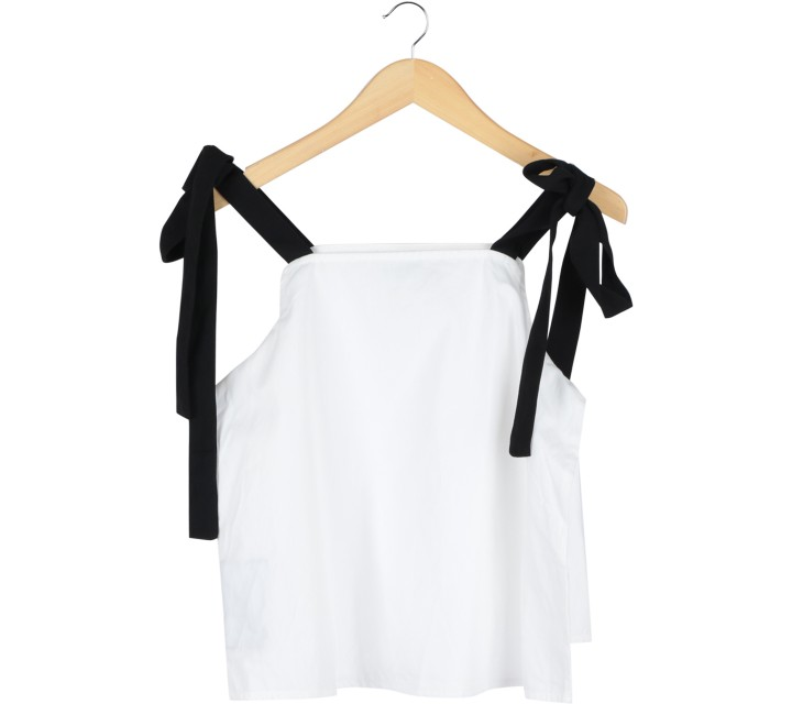Cotton Ink Off White Off Shoulder  Blouse