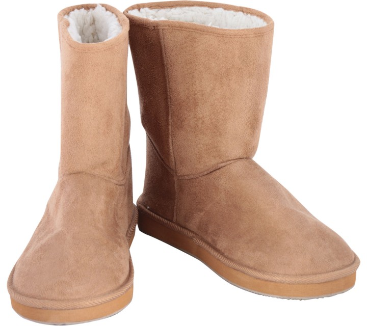 H&M Brown Fur Inside Boots
