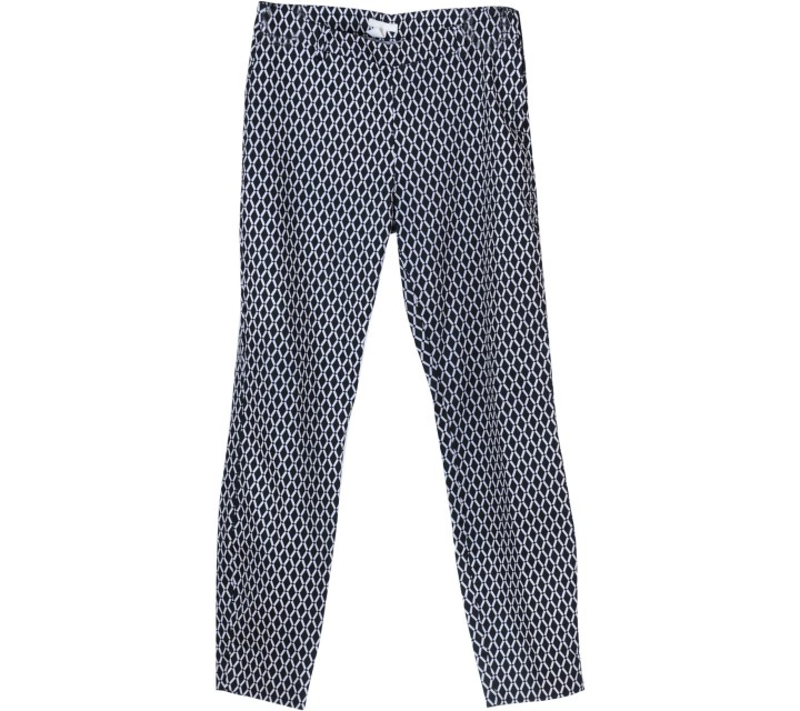 H&M Black And White Pants