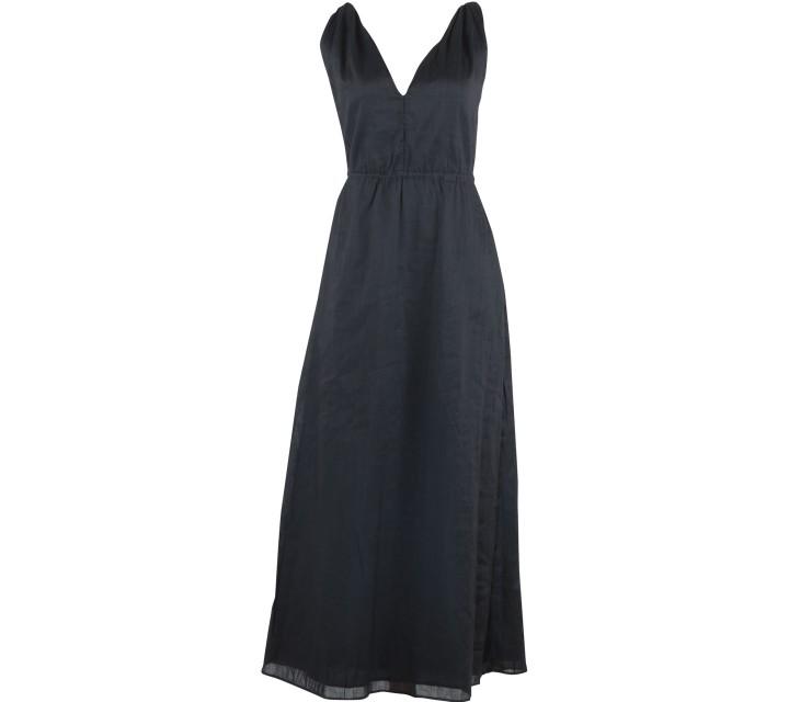 GAP Black Sleeveless Long Dress