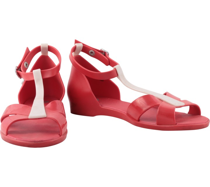 Melissa Red Sandals
