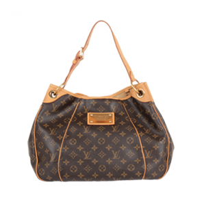 Louis Vuitton Brown Galliera Leather Hand Bag