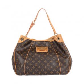 Louis Vuitton Brown Galliera Leather Hand Bag