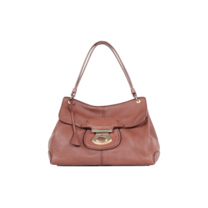 Tod's Brown Leather Hand Bag