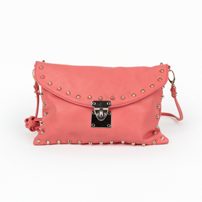 Forever 21 Peach Orange Leather Sling Bag