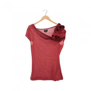 Red Basic Short Sleeve T-shirt