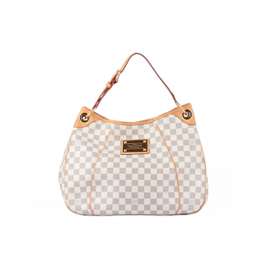 Louis Vuitton White Galliera PM Leather Shoulder Bag
