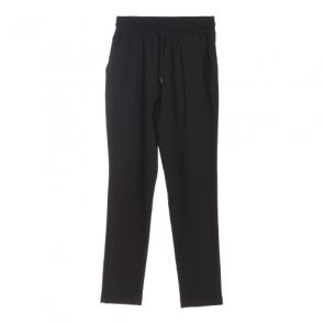 Black Plain Baggies Pants