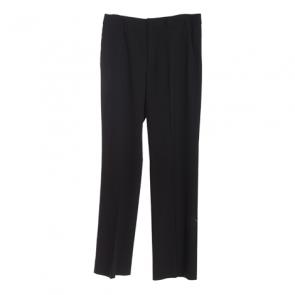 Black Basic Straight Pants