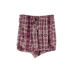 Purple Tribal Shorts