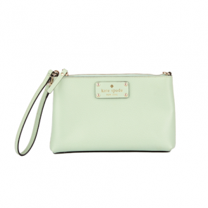 Kate Spade Mint Leather Pouch