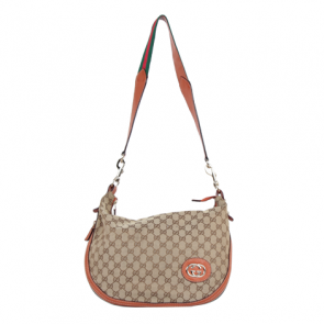 Gucci Brown Monogram Sling Bag