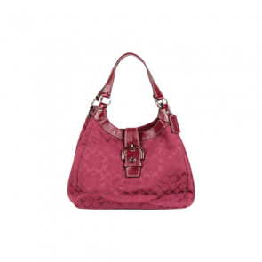 Coach Red Signature Collection Hand Bag