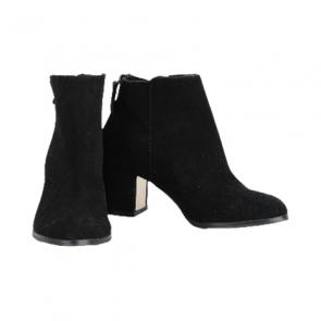 Stradivarius Black Leather Boots