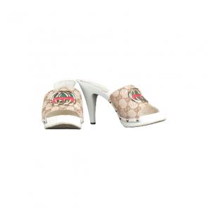 Gucci Sand Tees Gomma Heel Sandals