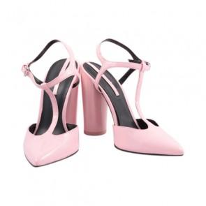 Zara Pink Pointed Heels