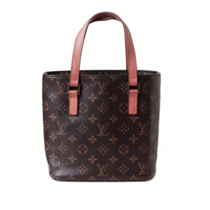 Louis Vuitton Brown Monogram Leather Tote Bag