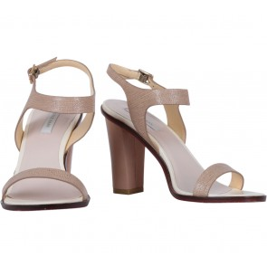Cole Hann Brown Strap Heels