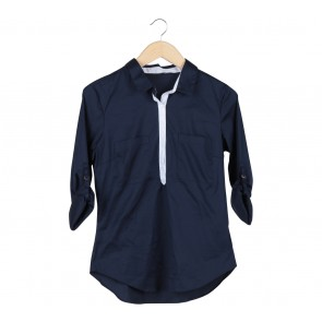 Zara Dark Blue Shirt