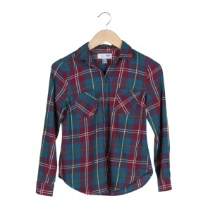 Old Navy Multi Colour Tartan Shirt