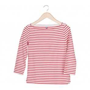 UNIQLO Red And White Striped T-Shirt