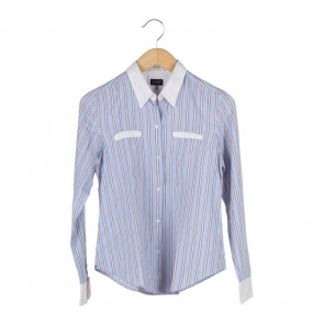 Armani Jeans Multi Colour Striped Shirt