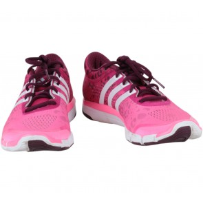 Adidas Pink And White Sneakers