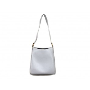 Salvatore Ferragamo White Boxy Shoulder Bag