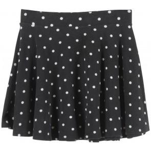 Forever 21 Black Polka Dot Skirt