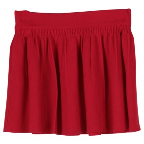 N.Y.L.A Red Flare Mini Skirt