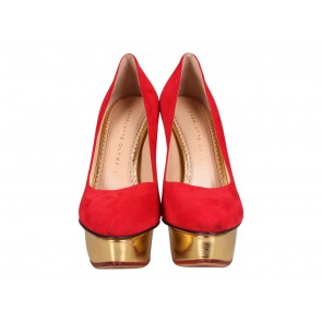 Charlotte Olympia Red Heels