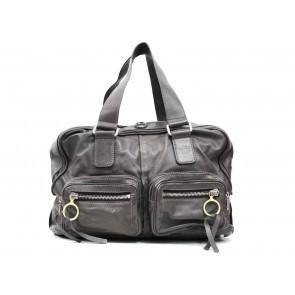 Chloe Dark Grey Shoulder Bag