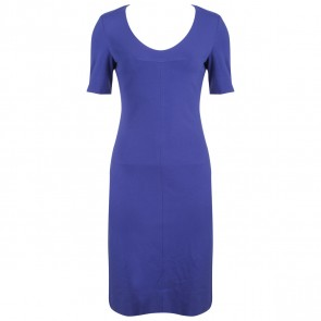 Diane Von Furstenberg Blue Midi Dress